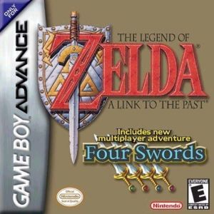 Legend Of Zelda, The - A Link To The Past Four Swords ROM