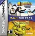 2 In 1 - Shrek 2 & Madagascar Operation Penguin